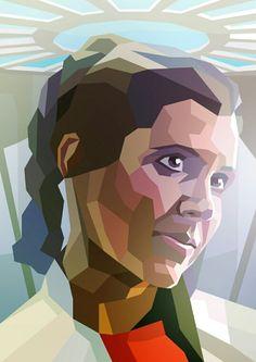 Princess Leia by Liam Brazier