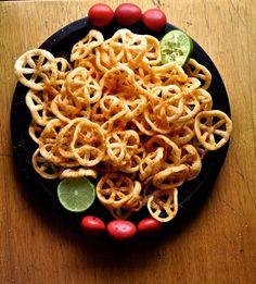 Mexican street vendor chips for Cinco de mayo. Chicharonnes de Harina Recipe | ¡HOLA! JALAPEÑO.