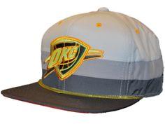 Oklahoma City Thunder Mitchell & Ness Gray Neon Lightweight Snapback Hat Cap