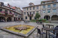 Plaza de la estrella. Galicia.