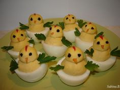 Hard Boiled Egg Chicks