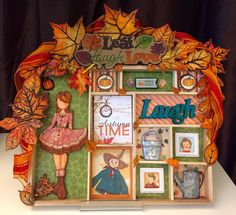 Julie Nutting Prima Doll Altered Doll House - Valentina Loves Fall