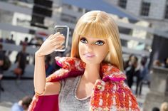 Yup, Barbie's official account is pretty weird, but she proves that life in plastic is indeed fantastic.