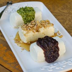 Goat Cheese Trio   by From Valerie's Kitchen