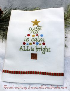 Do you still need a quick stitch stocking stuffer? This design stitches up quickly and adds a festive touch to home décor. The smaller design fits perfectly onto one of our mug rug blanks (not part of your purchase). Shown in the stitchout sample is our Mom/Mum mug rug.