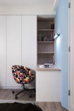 Bedroom Cupboard Designs, Room Design Bedroom, Bedroom Furniture Design, Modern Bedroom Design, Small Room Bedroom, Home Room Design, Home Office Design, Home Office Decor, Bedroom Decor