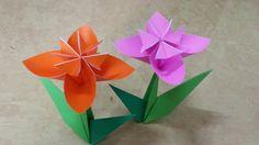 541 Origami  종이접기 (꽃) 색종이접기  摺紙 折纸 оригами 折り紙  اوريغامي