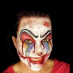 190 Best Clown Face Paint Images In 2019 Clown Faces Clown Makeup