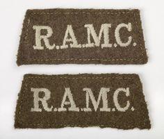 Royal Army Medical Corps uniform badges