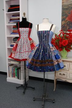 Mary Adams Apron dresses
