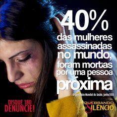 #quebreosilencio #mulher #violencia #morte