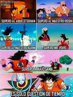 Lo amo no me gusta que cresca pero me enorgullece y me hace muy feliz Goku ^~^   :''D   >:'v Dragon Z, Dragon Ball Gt, Ghost Raider, Dbz Memes, Undertale Memes, Z Wallpaper, Spanish Humor, Shadow The Hedgehog, Comic Games
