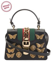 Made In Italy Leather Sylvie Mini Bag Beautiful Handbags, Mens Activewear, Tj Maxx, Clutch Wallet, Hermes Kelly, Mini Bag, Leather Backpack, Convertible, Shoulder Strap