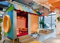 Werner Aisslinger creates upholstered hut for Kvadrat at imm Cologne