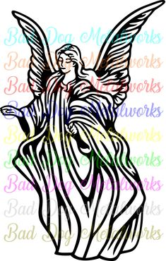 clipart love angel royalty free vector design angels rh pinterest co uk cute guardian angel clipart guardian angel prayer clipart