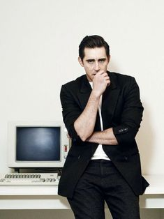 Lee Pace just casually staring into the depths of my soul..