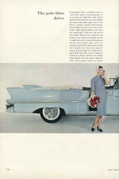 Vogue 1958 by John Rawlings