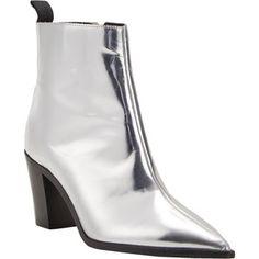 Acne Studios Metallic Loma Ankle Boots