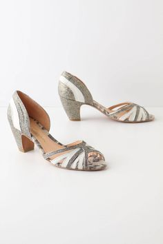 Love these shoes from Brazilian Designer Luiza Barcelos! Find them on www.anthropologie.com