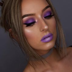 Do as @kanejenna and edge up your glam with a monochromatic look She wears our Highlight & Contour Pro Palette and Liquid Suede Cream Lipstick in 'Sway' ✨ || #nyxcosmetics #nyxprofessionalmakeup