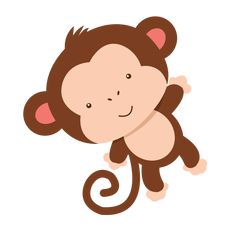 Clipart can be used for many decorations. Safari Party, Safari Theme, Monkey Crafts, Monkey Art, Baby Shower Themes, Baby Boy Shower, Jungle Theme Birthday, 2 Baby, Baby Party