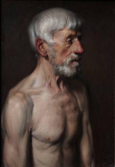 brazenswing:    Daniel Graves: Portrait of An Old Man, 2007.