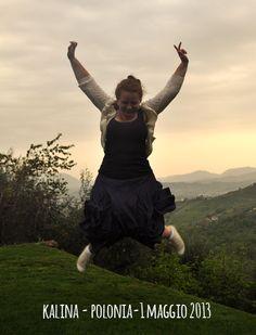 kalina jump for Forestaria Organic Farm Tuscany