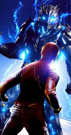 The Flash Grant Gustin and Savitar Flash Barry Allen, Fotos Do Flash, Savitar Flash, Flash Art, The Flash Poster, Flashpoint, Dc Speedsters, Flash Characters, Flash Tv Series