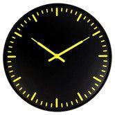 """Found it at AllModern - Ultra Flat Swiss Station 15"""" Wall Clock"""