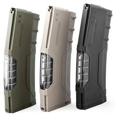 For 'My Precious'.....  Windowed Mags from HERA Arms - http://www.rgrips.com/tanfoglio-match/529-tanfoglio-match-grips.html