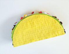 """Piñatas de taco 23""""  Party Fiesta   Pinata del cumpleaños   Taco Emoji"""