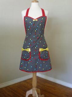 Pac Man Apron Limited Edition pacman by HauteMessThreads on Etsy,