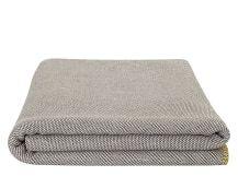 Malone 150 x 200cm 100% Cotton Throw, Slate Grey
