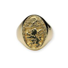 Mens Gold Family Crest Rings - Gold Family Coats of Arms Rings Proudly display your family heritage on your own gold Coat of Arms Ring. Each ring is individually stamped by the Assay Office in . Gentlemans Club, Family Crest Rings, Family Ring, Irish Coat Of Arms, Ring Stores, Irish Jewelry, Anniversary Gift For Her, Signet Ring, Vintage Diamond