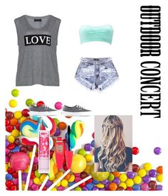 """""""Outdoor concert look"""" by alicelynch on Polyvore"""