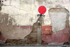 30 More Creative Street Art Works by OakoAk Urban Street Art, Best Street Art, Urban Art, Urban Life, Banksy, Graffiti Artwork, Street Art Graffiti, Mr Brainwash, Urban Intervention