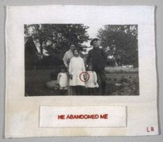 Louise Bourgeois. Untitled, no. 2 of 12, from the illustrated book, The Trauma of Abandonment. 2001