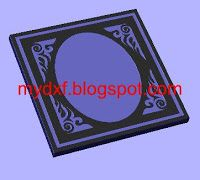 free dxf file,Design 448 CNC DXF