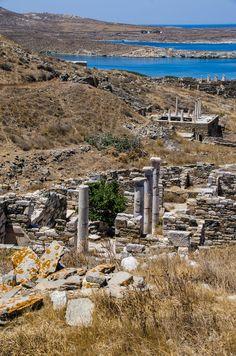 Delos Greece.