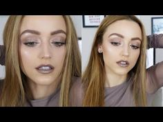 Monochromatic Cool Toned Makeup Look