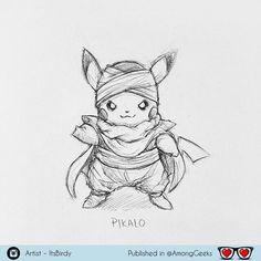 Pikalo  . . . #Pikalo #Pikachu #pikolo #pokemon #dragonball #dragonballz #pokemonart #pokeart #dbz #Draw #Drawing #Art #Fanart #Artist #Illustration #Design #sketch #doodle #tattoo #Arthelp #Anime #Manga #Otaku #Gamer #Nerdy #Nerd #Comic #Geek #Geeky . . Geek drawings gallery.  Use #AmongGeeks for a chance to be featured  Artist credit