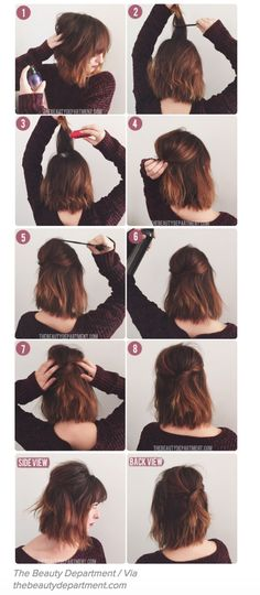 13 no-heat hair styles that will have your locks looking lovely!