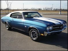 This is the car: 1970 Chevrolet Chevelle SS