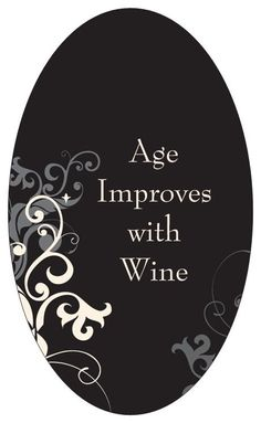 Unique Wine Label Custom & Personalized Available 40th Party Ideas, 50th Birthday Quotes, Custom Wine Labels, Halloween Bottles, Wine Quotes, Birthday Wishlist, Craft Gifts, Unique Gifts, Messages