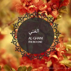 Al-Ghani,The Rich One,Islam,Muslim,99 Names