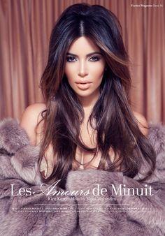 En fotos: Kim Kardashian demuestra toda su sensualidad para revista francesa