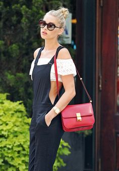 Last Week, Supermodels Wore Overalls and Carry Bags from Mansur Gavriel,  Céline… 9c0157f3e0