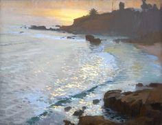 Read this article: Seascape by Ray Roberts, oil painting.