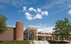 Benjamin E. Mays High School by Atlanta architects Perkins & Will.