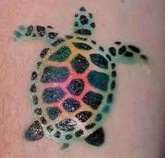 Sea Turtle Tattoos And Designs-Sea Turtle Tattoo Meanings And Ideas-Sea Turtle Tattoo Pictures